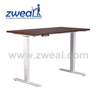 customized china manufacture lift standing folding wood table