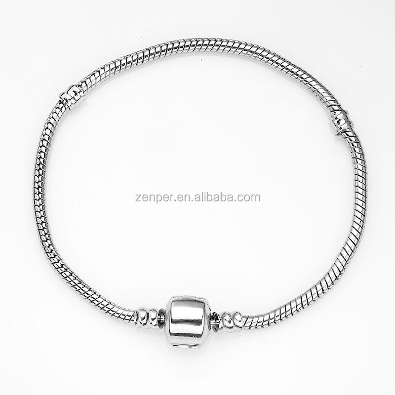 Catena del serpente dell'acciaio inossidabile per charm bracelet fare