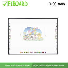 "Office & School Supplies magic 82"" 4 touch finger touch optical Interactive whiteboard price for For Teaching Equipment"