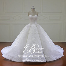 XF16147 latset sweetheart neckline royal collection ball gown bridal wedding dress luxury bridal gowns