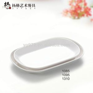 Wholesale100% melamine oval plates dishes