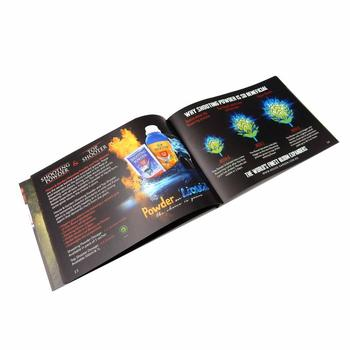 Professional company fast delivery top quality coloring luxury brochure printing