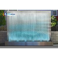 Free Design Outdoor Marble Garden Pool Wall Waterfall
