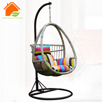 Cocoon Hanging Chair Portable Living Room Swing Chair