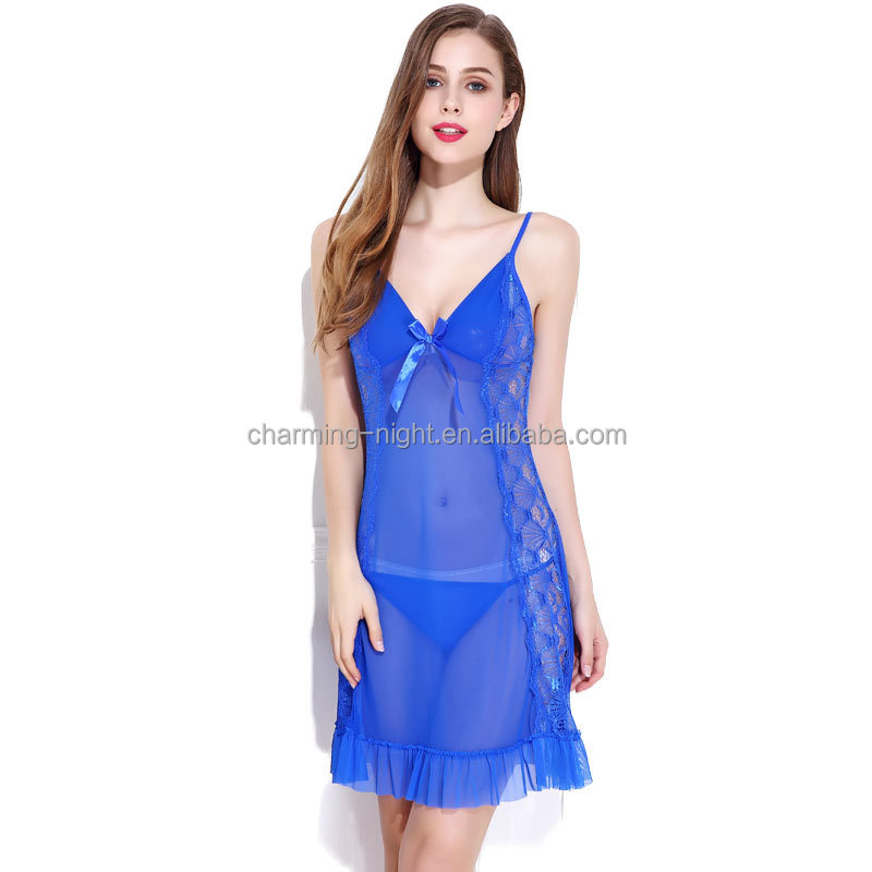 nylon beautiful girls sexy undergarments sexy transparent nude babydoll sexy nighty for honeymoon