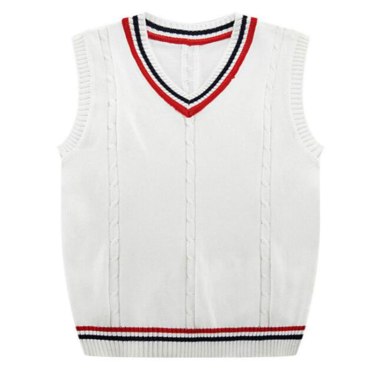 c94dab65d18984 Get Quotations · Colygamala Men s Casual Knitted Regular Fit V Neck Pullover  Casual Sweater Vest 5Color