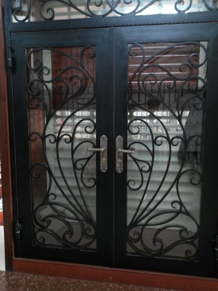 puerta de hierro forjado puerta precios puertas