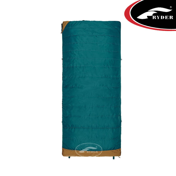 Best Selling Products Outdoor 3 Season Envelope Waterproof Custom Printed Double Hiking Cheap Camping Sleeping Bag