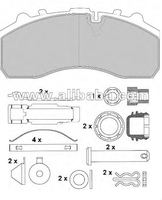 BRAKE PAD FOR ALL TRUCK BUS AND TRAILER MODELS
