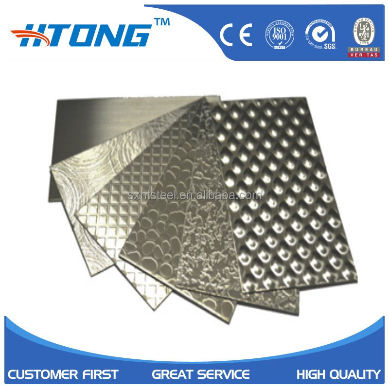 korea duplex stainless steel embossed colled rolled plates and sheets