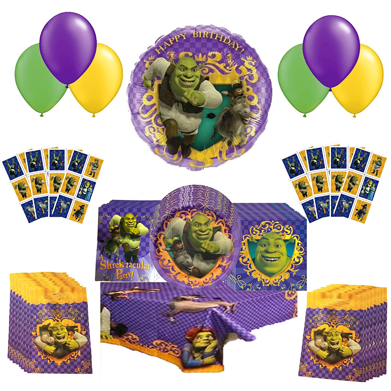 Dreamworks Shrek Party Pack 64pc