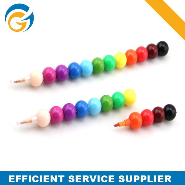 Candy Shape Promotional Plastic Pencil with Smile