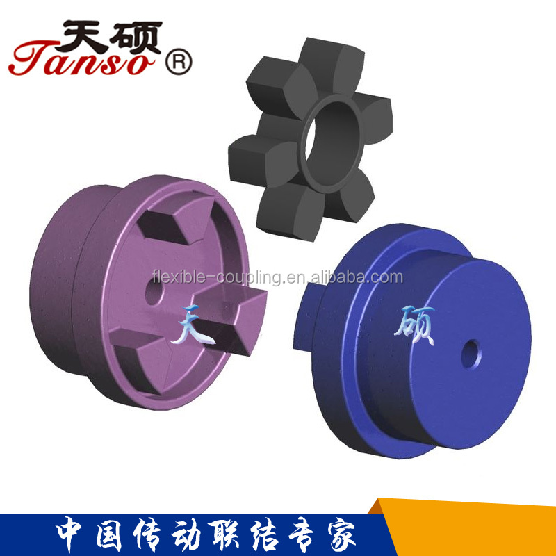 Jaw spider coupling/HRC type jaw coupling