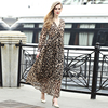 Wholesale Custom Summer Fashion Women Leopard Casual Dress
