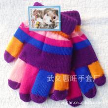 Gift, autumn winter outdoor keep warm women men kids touch knited gloves half / full finger children gloves 1pair=2pcsGW56