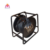 Pure copper audio signal cable , XLR stage snake cable reel box
