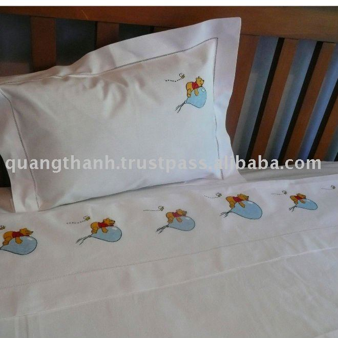 Charmant Hand Embroidery Cot Sheet   Buy Hand Embroidery Flat Sheet,Embroidery Bed  Sheet,Baby Cot Sheet Product On Alibaba.com