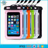 PVC cover case waterproof phone pouch for rafting boating swimming
