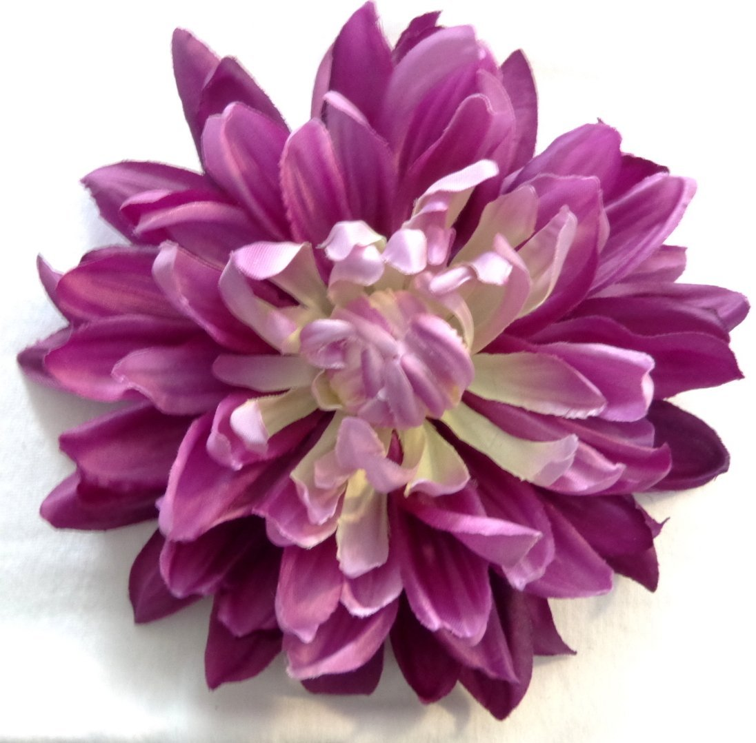 Buy Large Bright Purple Dahlia Hair Flower In Cheap Price On Alibaba
