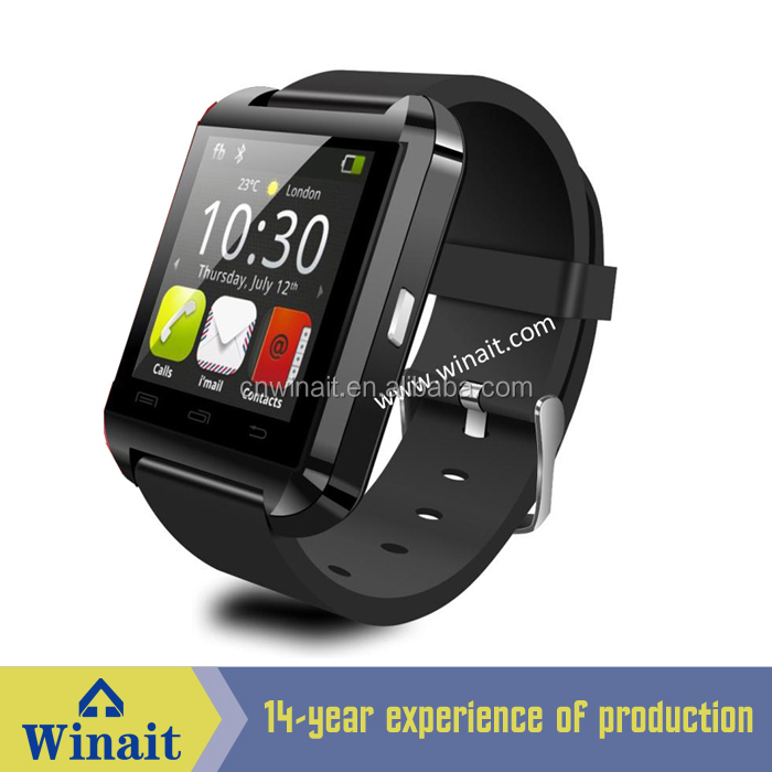 Hot sale shenzhen fashionable android smart watch mobile phone WT-60
