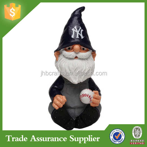 Top Sales Resin Customize Souvenir Gnome Bobblehead Home Decoration