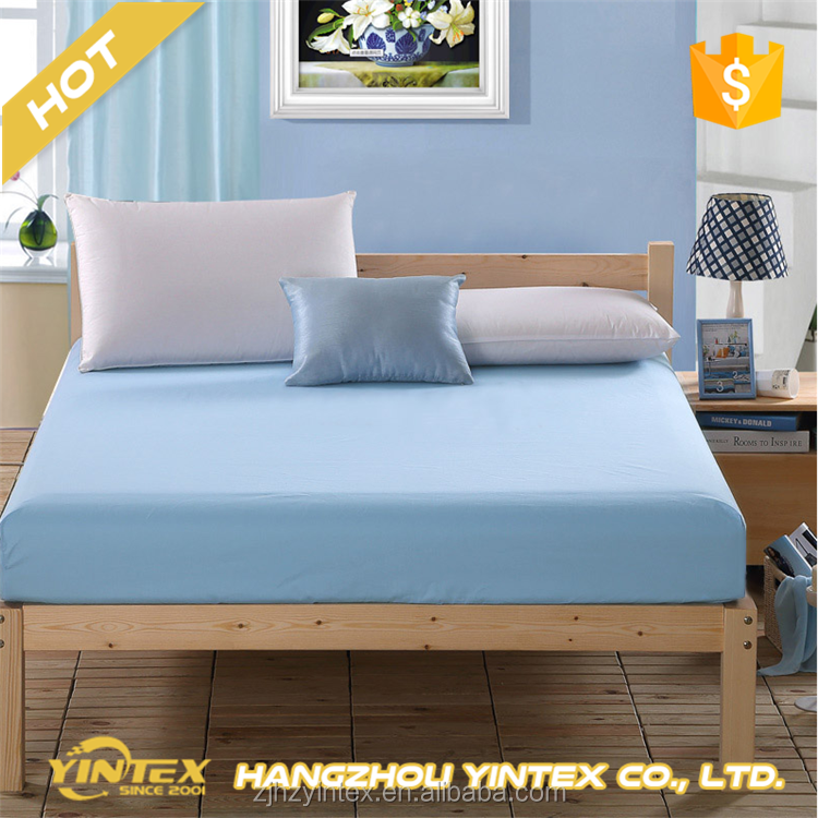 100% Polyester Mattress Protector, Wholesale Cheap Hotel Fitted Mattress Cover