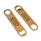 Promotional Original Blank Metal Bar Flat Bottle Opener