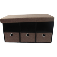 Compact-Ability Large Storage Seating Ottoman