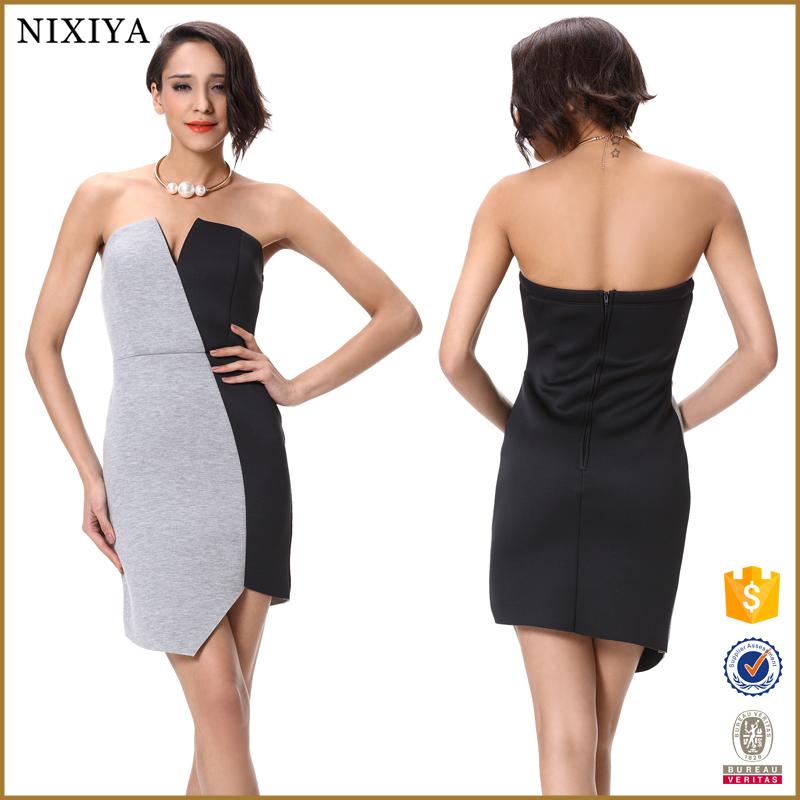 Negro Y Evening Sexy Te Dresses Vestidos Ebay Fiesta Blanco De deoEQCxrBW