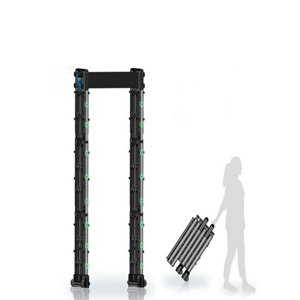 2017 Best sale high sensitivity electronic security equipment portable walk through full body metal detector