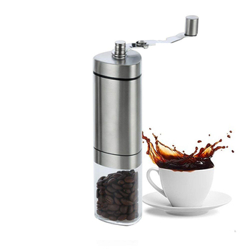 New Popular Adjustable Ceramic Conical Burr Mill Manual Coffee Grinder