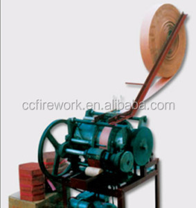fireworks red firecraker tube making machine