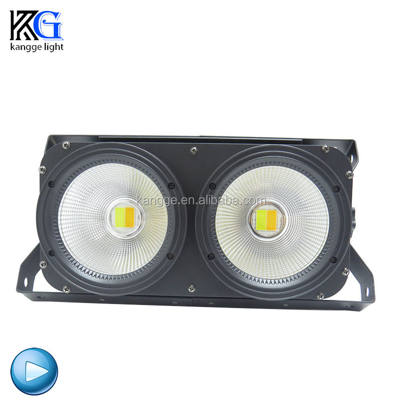 2 eyes Cob Light <strong>source</strong> 100w Blinder Light stage Led Viewer Light
