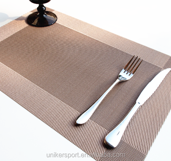 custom placemats plastic dining table mat and table plate mat