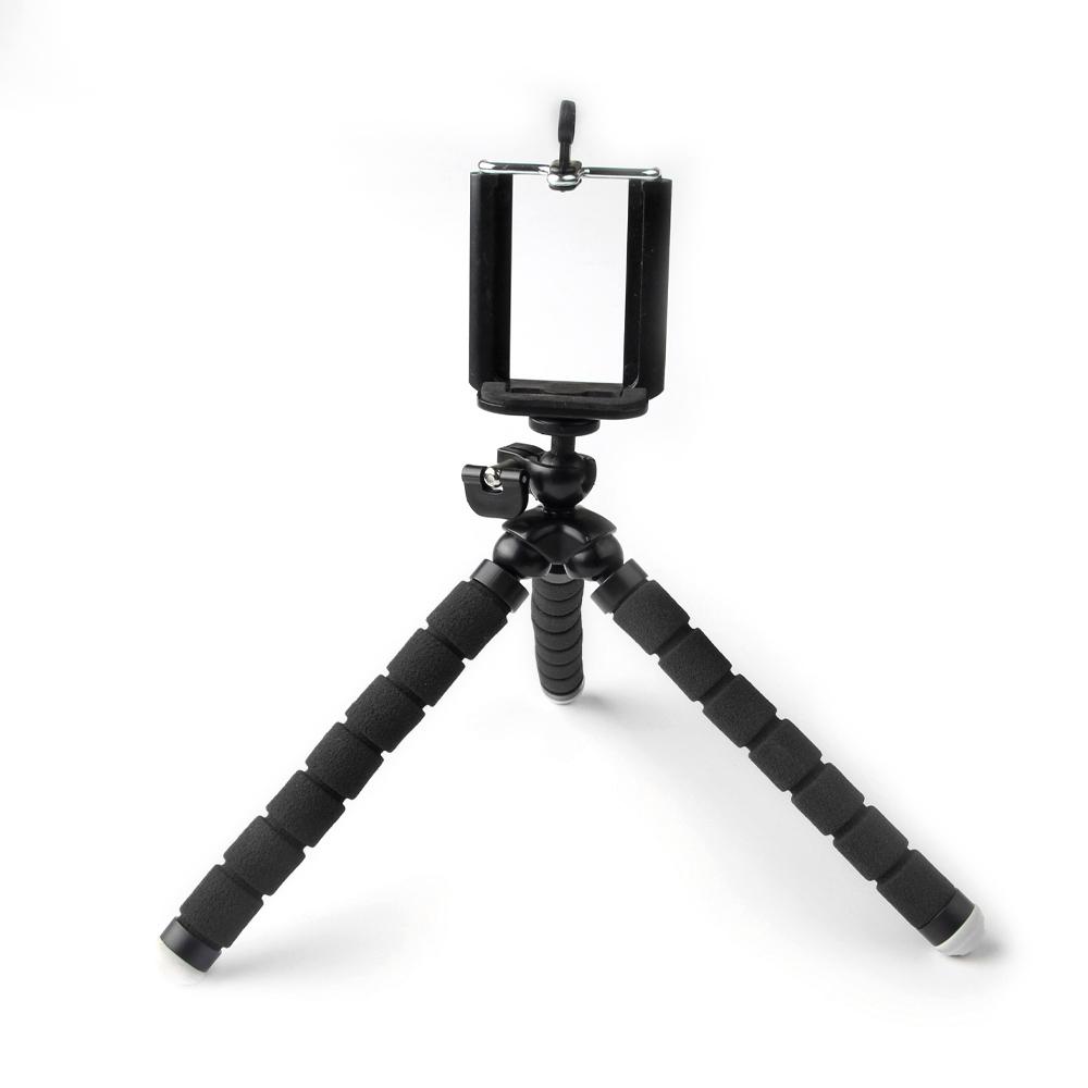 G Bl Stand Octopus Black Black Mini Portable Phone