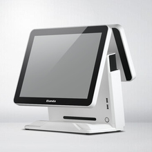 <span class=keywords><strong>Fabrik</strong></span> alle in einem android POS system Cash Register mit dual touch screen
