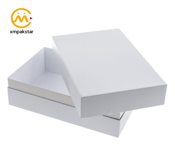 China factory customized color eco cardboard carton packaging box for clothing