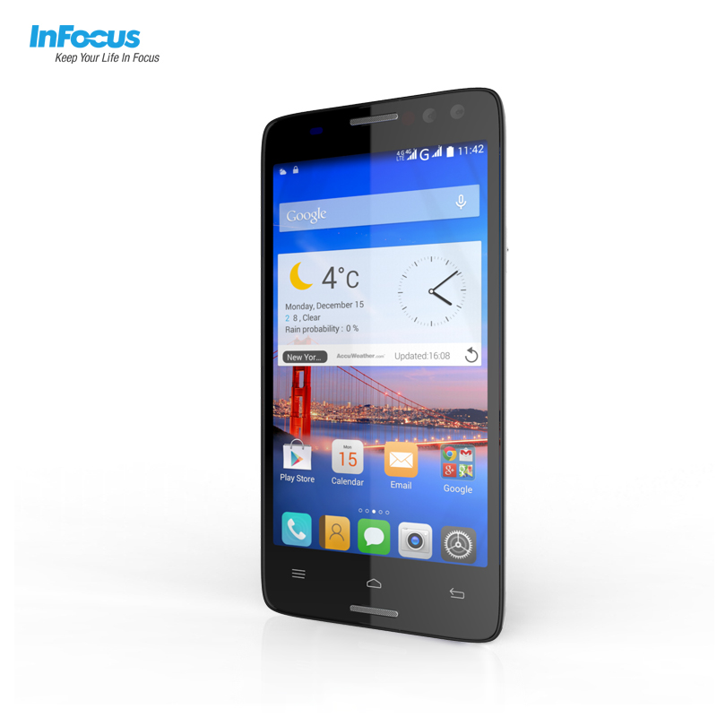 Infocus M550 3D screen 4G lte 5.5inch FHD smart mobile phone