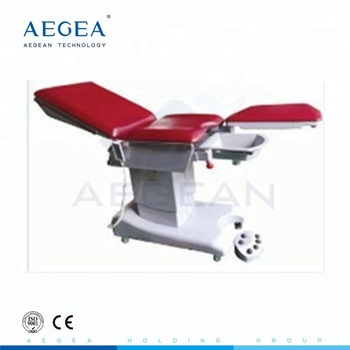 AG-C203B surgical multifunction electric obstetric table with mattress for sale