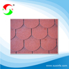high quality single layer color fiberglass asphalt roofing shingles