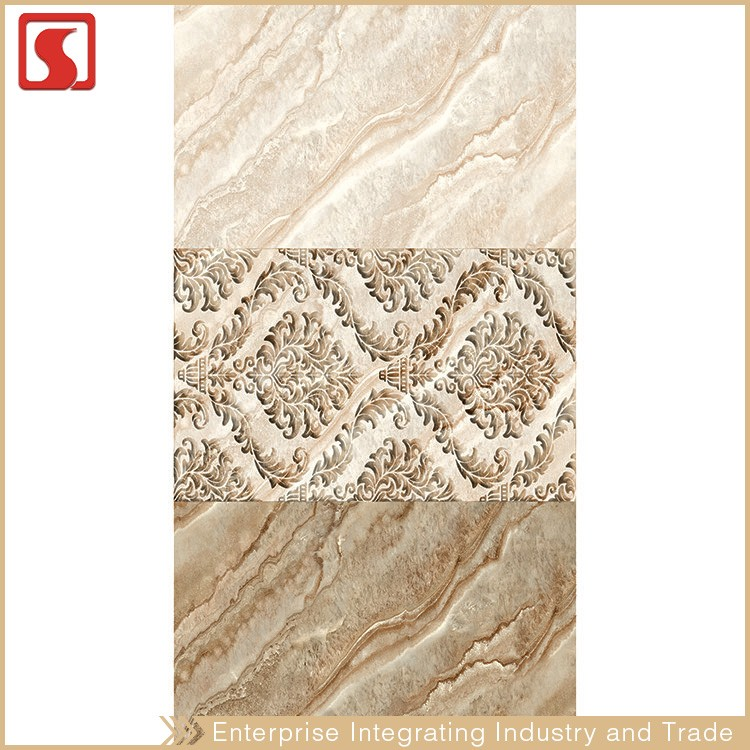 Hot Sale Nigeria 25X50 CM Patchwork Stick And Go Wall Tile