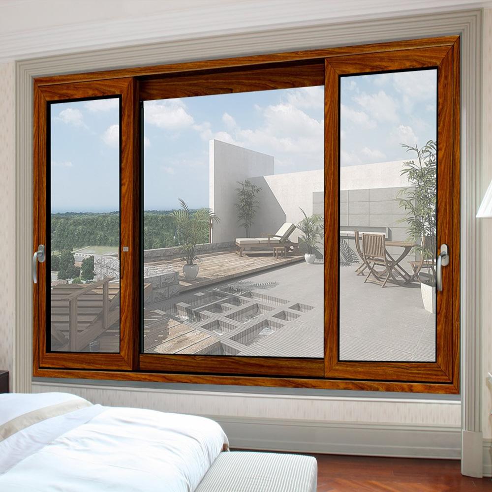 Dise o de ventanas rejas para ventana corredera de for Precio de aluminio para ventanas