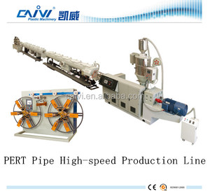complete set pe/pert/abs pipe production line