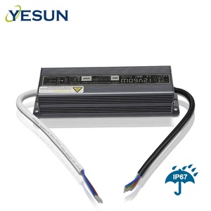 LED Lights Power Supply Transformer Waterproof IP67 DC12V 60W Power Supply