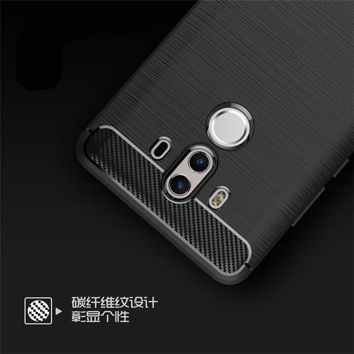 finest selection b07ae c5879 Hot Selling Rugged Armor Carbon Fiber Tpu Phone Case For Huawei Mate 10 Pro  Case Brushed Line - Buy For Huawei Mate 10 Pro Case Brushed Line,Tpu Phone  ...