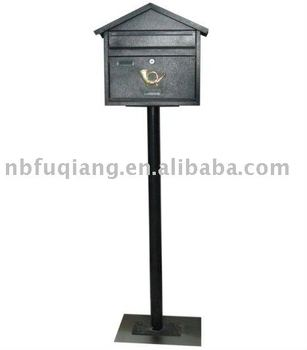 Mailbox Letter Box Metal Postbox Standing