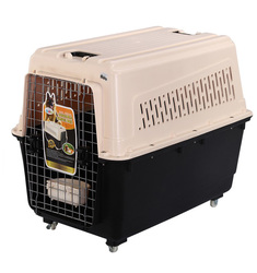 Dog Carry Bag Pet Travel Kennel with Wheels
