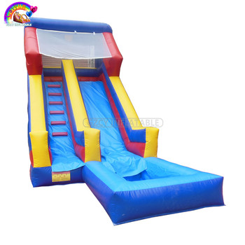 Commercial PVC Inflatable Water Slide For Sale