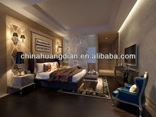 Asian style queen bed