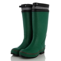 Waterproof reflective heel kick brand name boots rubber boots for rain
